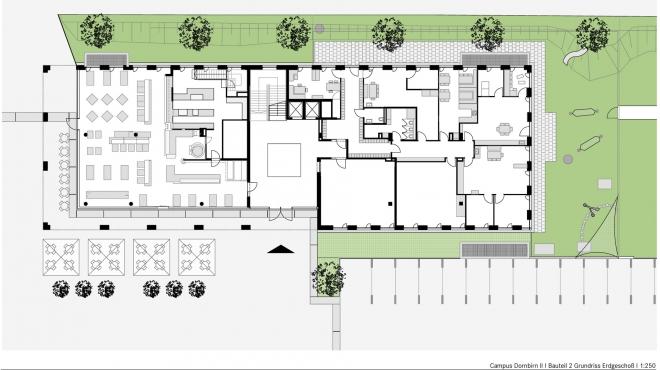 05 Erdgeschoss Bauteil 2 _ Layo