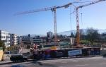 Baustart Wohnanlage Union Lustenau
